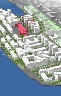 Andrejsala, Rīgā detālplānojuma apbūves risinājums un apbūves vizuālās ietekmes analīze